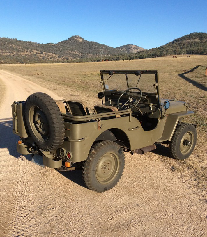 Willys Jeep has been sold